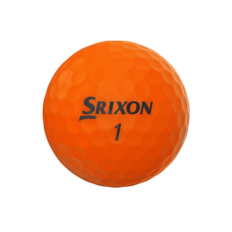 SRIXON - BALLES DE GOLF SOFT FEEL BRITE ORANGE 1
