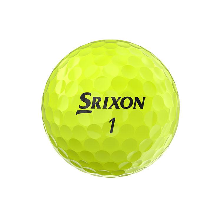 SRIXON - BALLES DE GOLF SOFT FEEL JAUNE 1