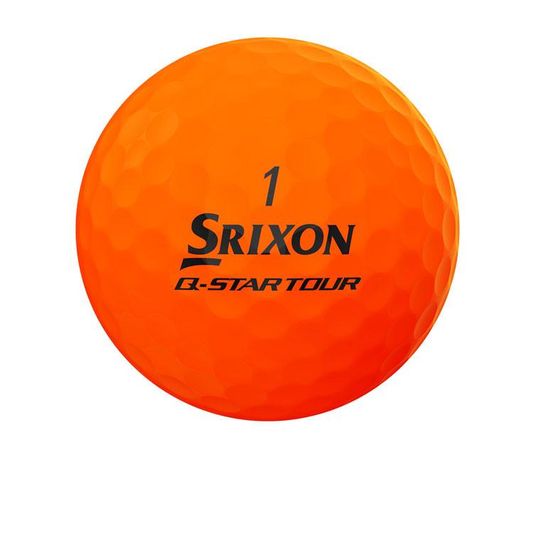 Srixon - Balles Bicolores Q-Star Tour Divine Orange