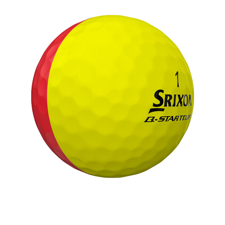 Srixon - Balles Q-Star Tour Divine Jaune/rouge 1