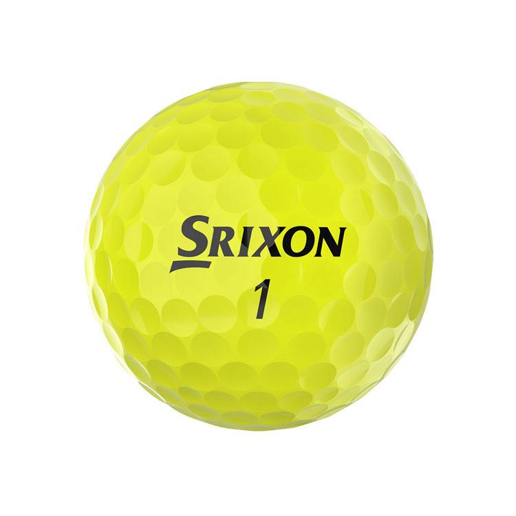 Srixon Balle Q Star Tour Jaune Golf Plus