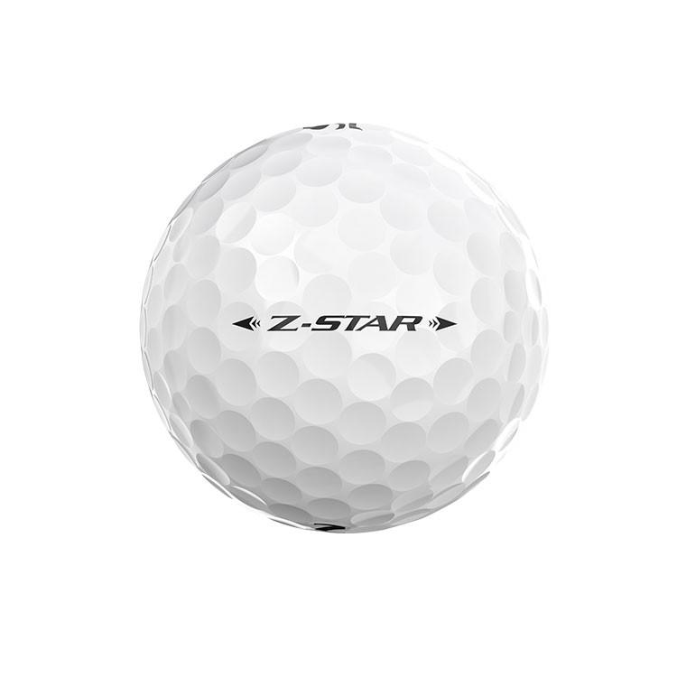 Srixon-Balles-De-Golf-Z-Star-Blanc-Blanche-Alignement-Face