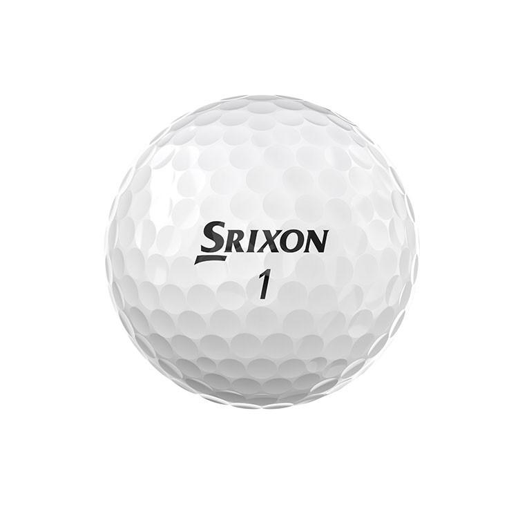 Srixon-Balles-De-Golf-Z-Star-Blanc-Blanche-Arrière
