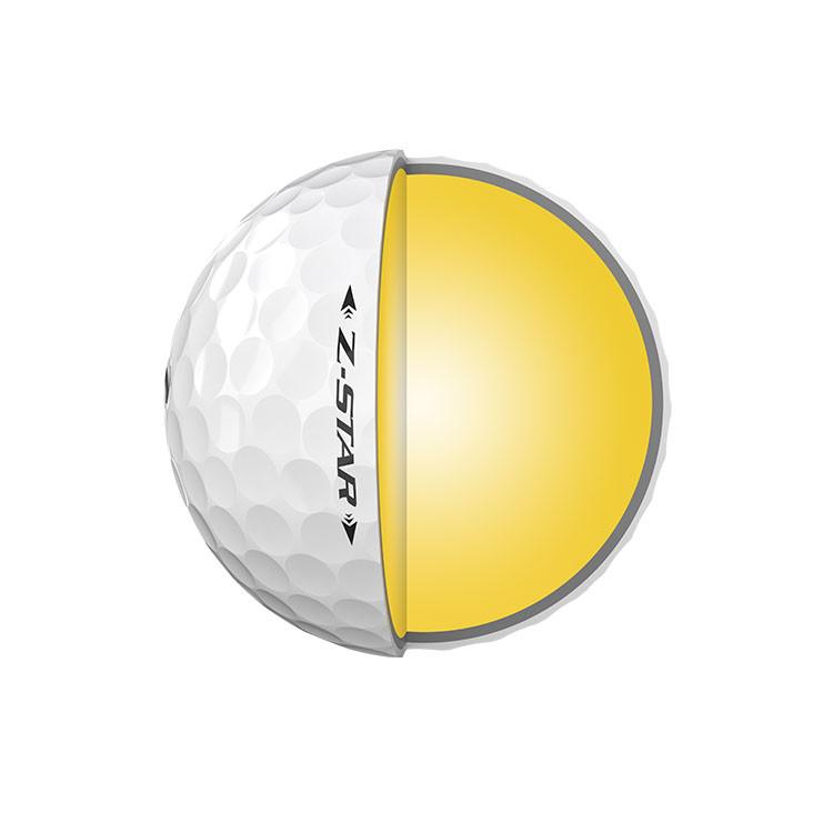 Srixon-Balles-De-Golf-Z-Star-Blanc-Blanche-Couches-4-Pièces-Techniques
