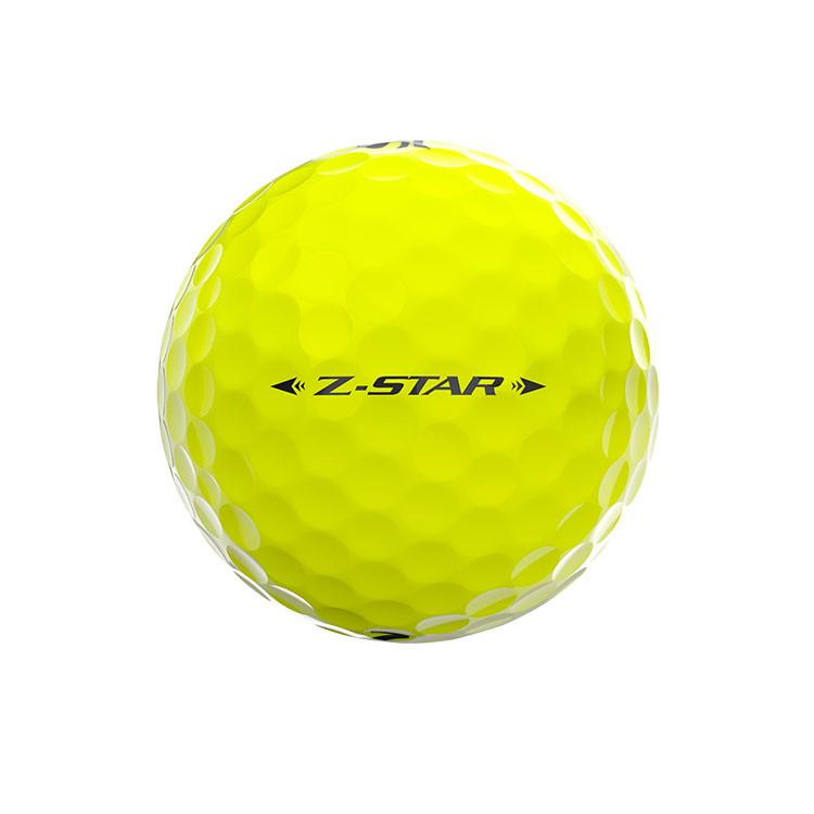 Srixon-Balles-De-Golf-Z-Star-Jaune-Alignement-Face