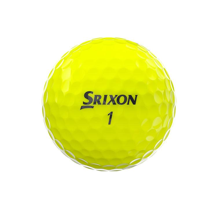 Srixon-Balles-De-Golf-Z-Star-Jaune-Côté