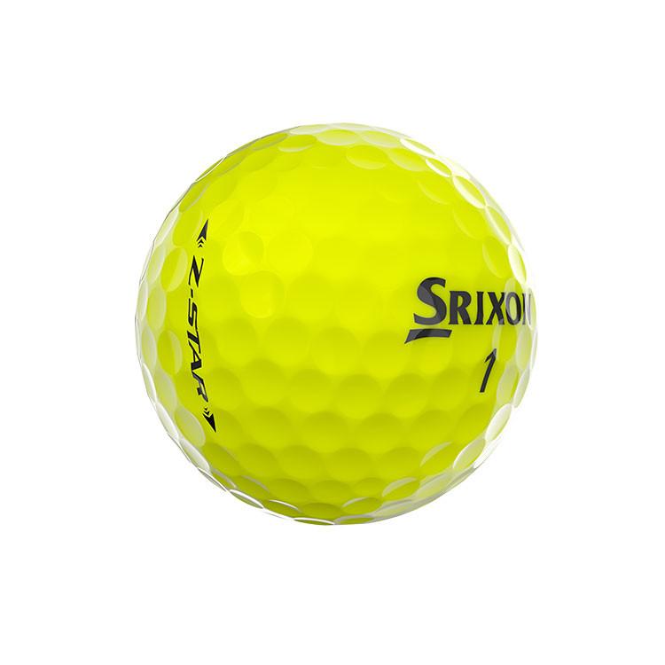 Srixon-Balles-De-Golf-Z-Star-Jaune-Arrière