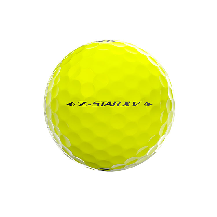 Srixon-Balles-De-Golf-Z-Star-XV-jaune-Alignement-Face