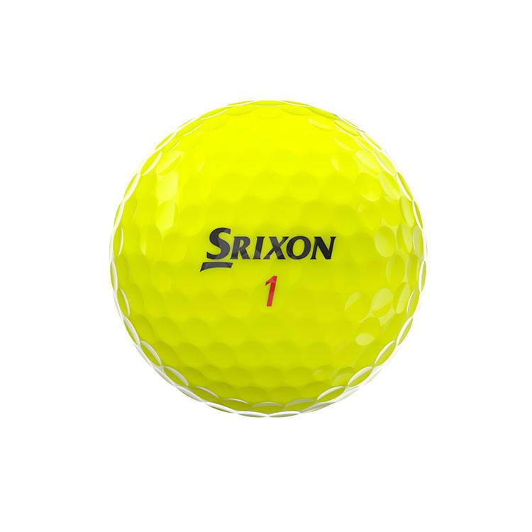 Srixon-Balles-De-Golf-Z-Star-XV-jaune-Arrière