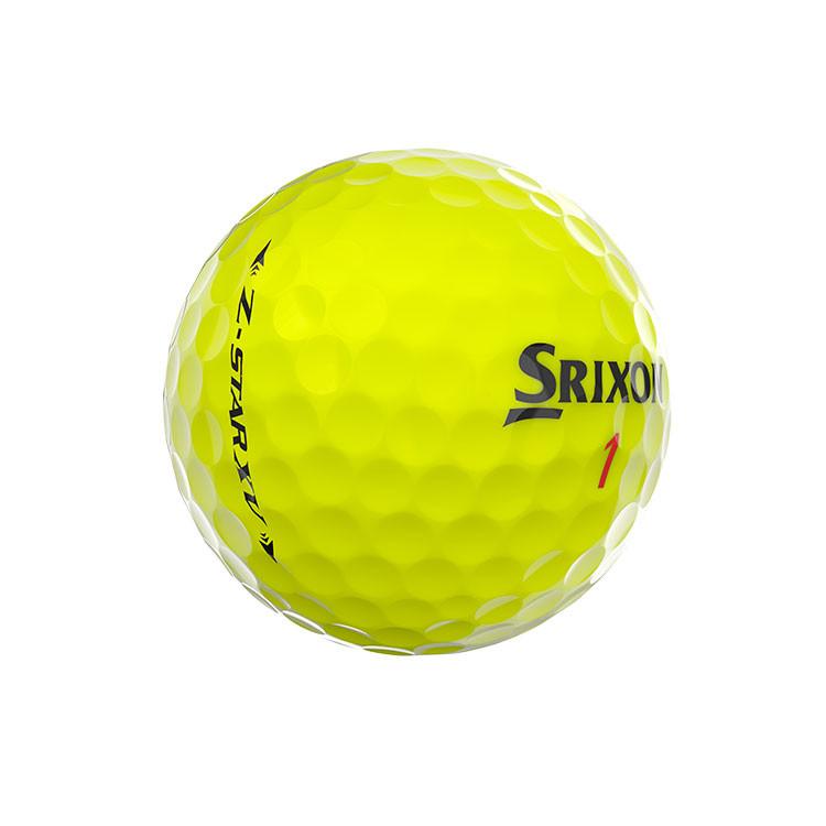 Srixon-Balles-De-Golf-Z-Star-XV-jaune-Côté