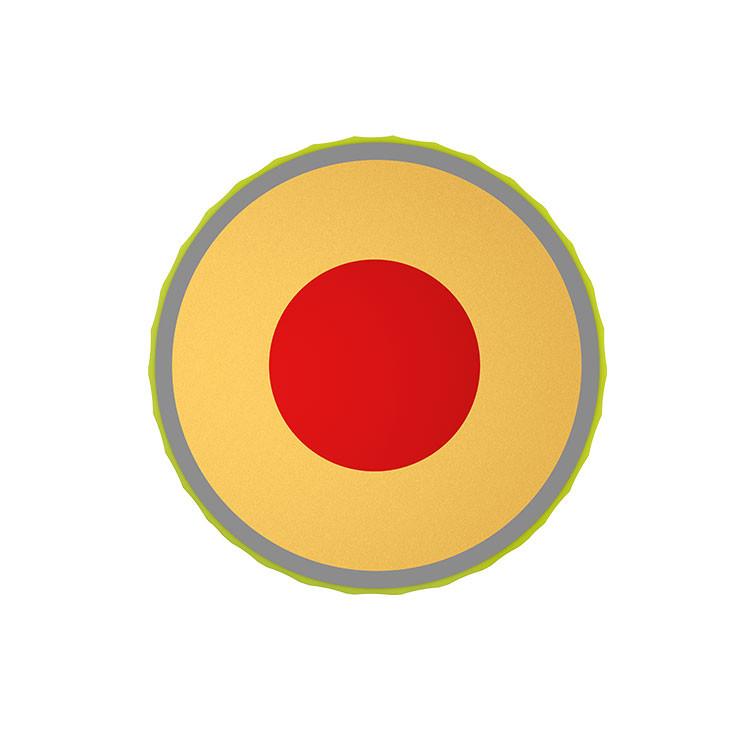 Srixon-Balles-De-Golf-Z-Star-XV-jaune-Couches-4-Pièces-Techniques-Coupe-Face