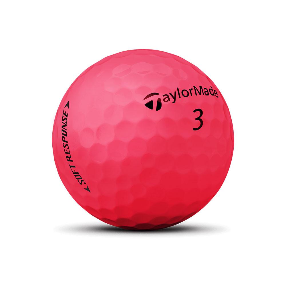 TAYLORMADE - BALLES DE GOLF SOFT RESPONSE ROUGE 2