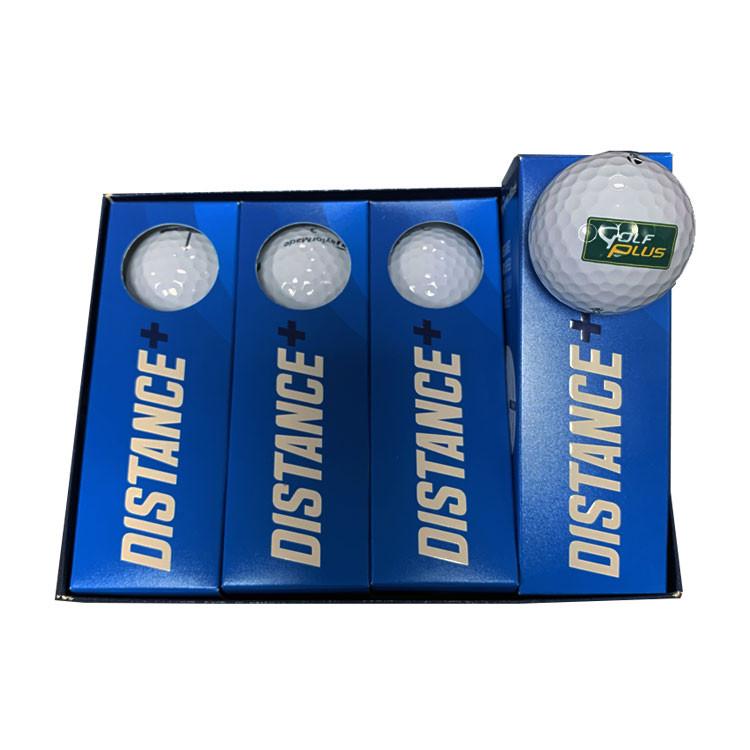 TaylorMade - Balles Distance Plus Logo Golf Plus