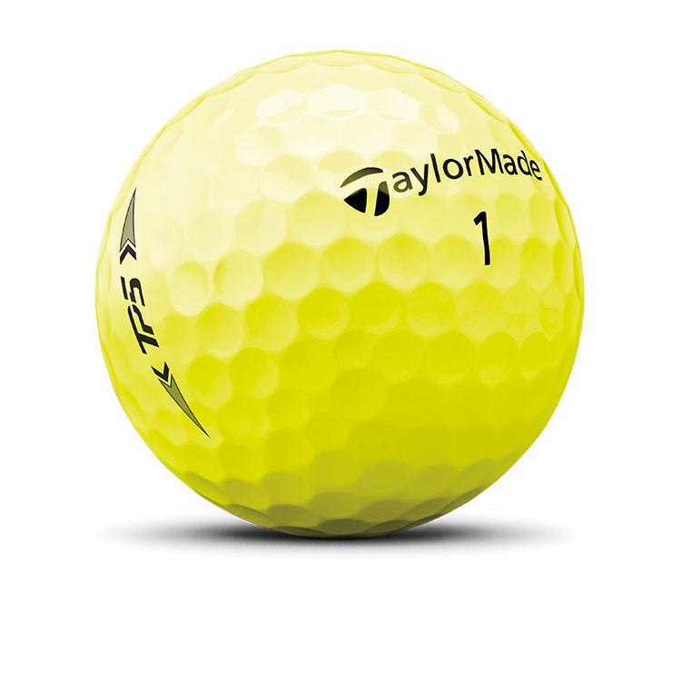 TaylorMade - Balle de golf TP5 jaune