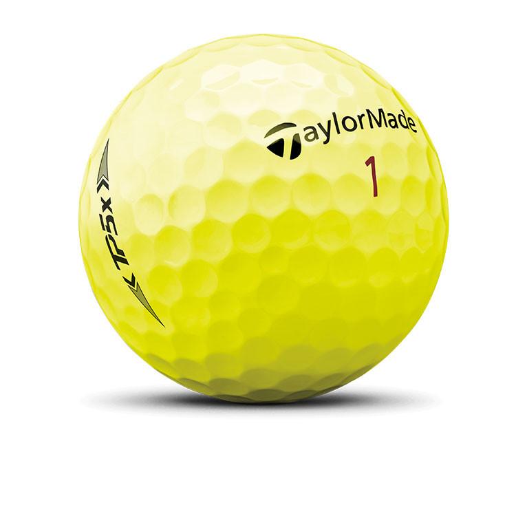 TaylorMade - Balle de golf TP5x jaune