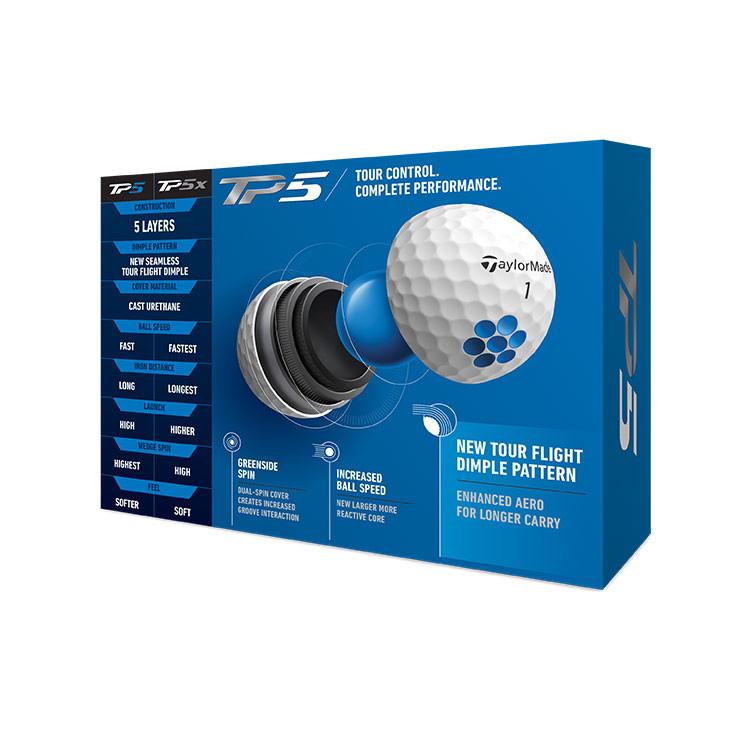 TaylorMade - Balles de golf TP5 descriptif