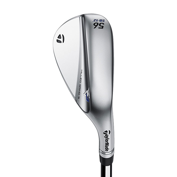 TAYLORMADE - WEDGE MILLED GRIND 3 CHROME LB 3
