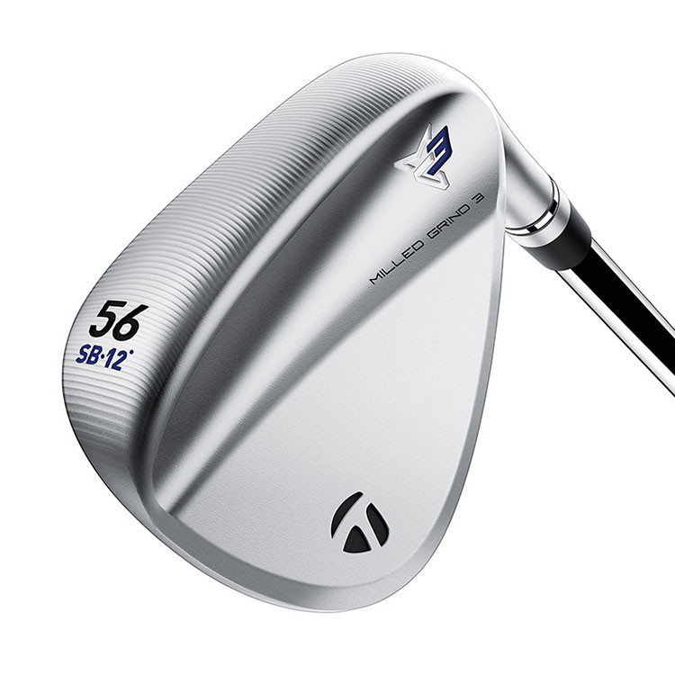 TAYLORMADE - WEDGE MILLED GRIND 3 CHROME LB 4