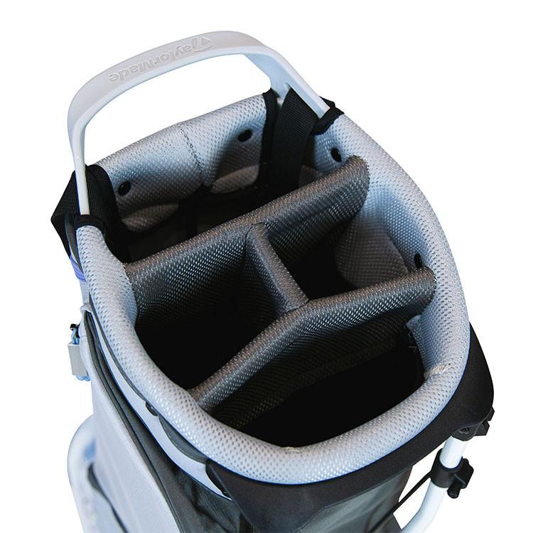 TaylorMade Sac Flextech Lite Trepied Noir/Gris/Bleu Golf Plus