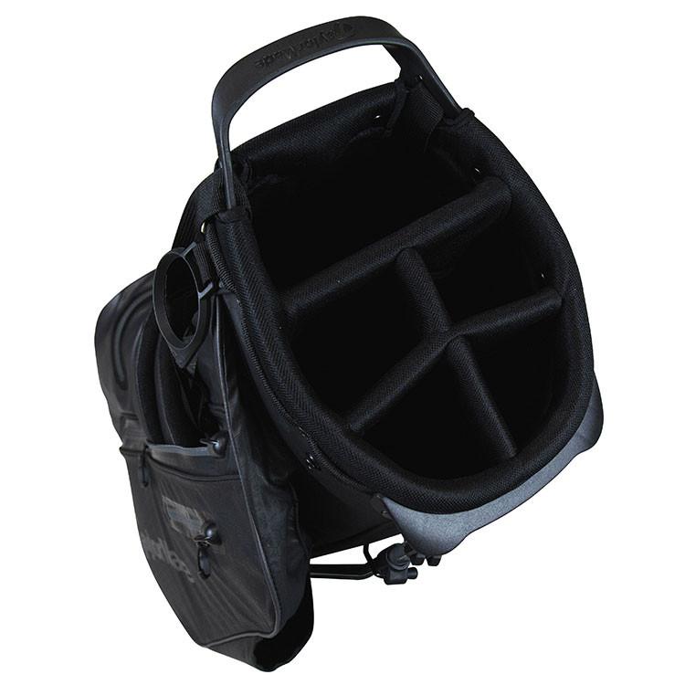 TaylorMade Sac Flextech Waterproof Trepied Noir/Blanc/Bleu Golf Plus