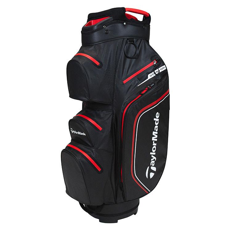 TaylorMade Sac Dry Cart Noir/Rouge Golf Plus