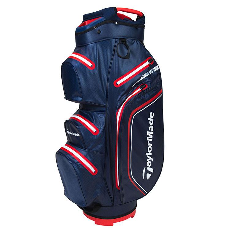 TaylorMade Sac Storm Dry Cart Bleu Marine/Rouge Golf Plus