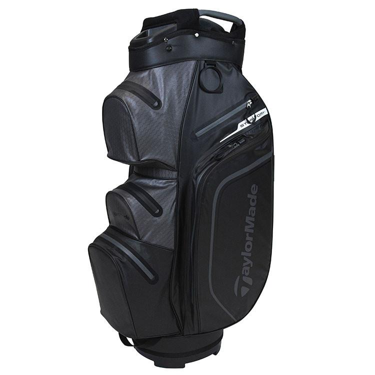 TaylorMade Sac Storm Dry Cart Noir/Anthracite Golf Plus