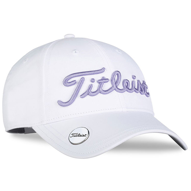 TITLEIST - CASQUETTE TOUR PERFORMANCE BALL MARKER WHITE COLLECTION FEMME BLANC