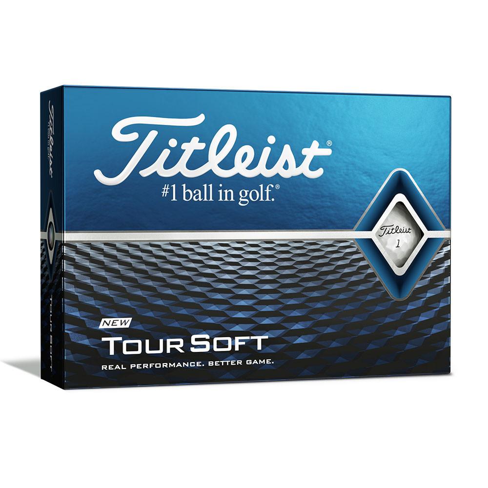 TITLEIST - BALLES DE GOLF TOUR SOFT BLANC