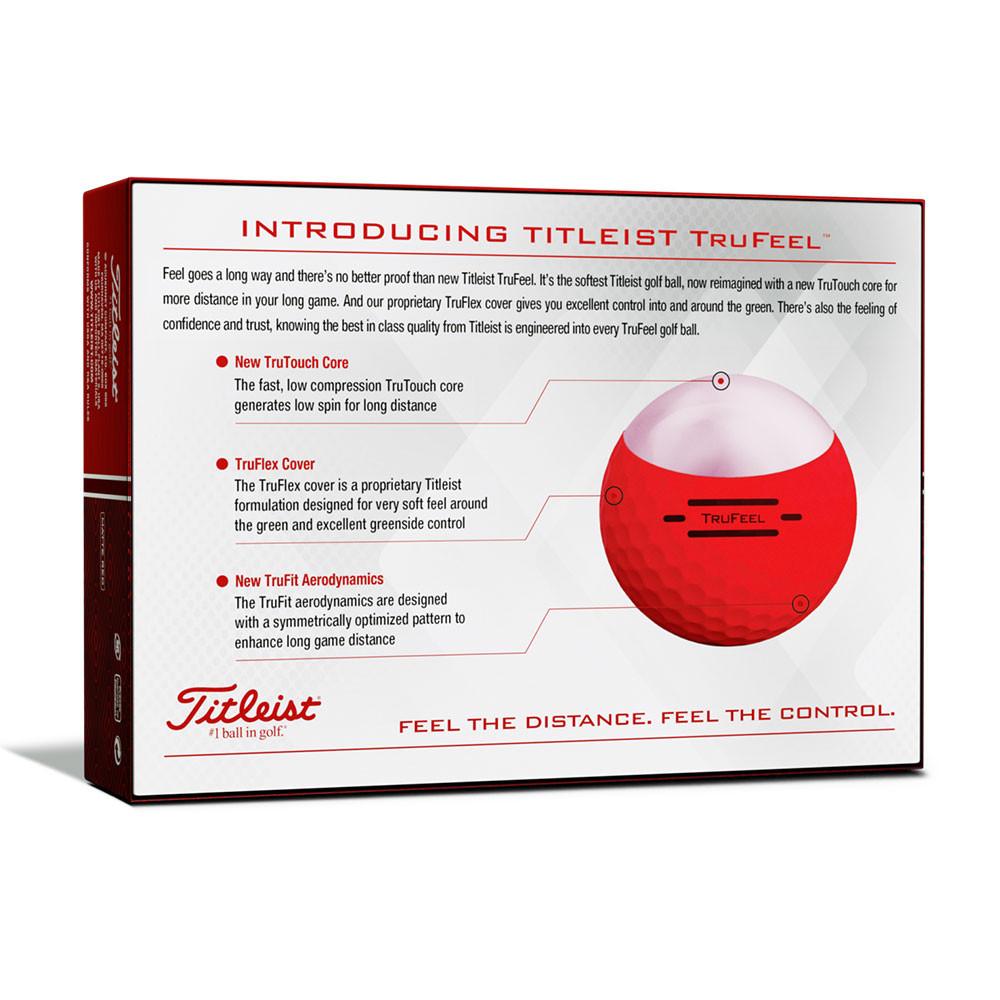 TITLEIST - BALLES DE GOLF TRUFEEL 2