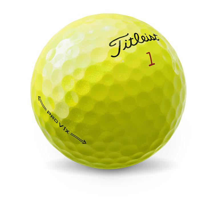 Titleist - Balles Prov1x yellow