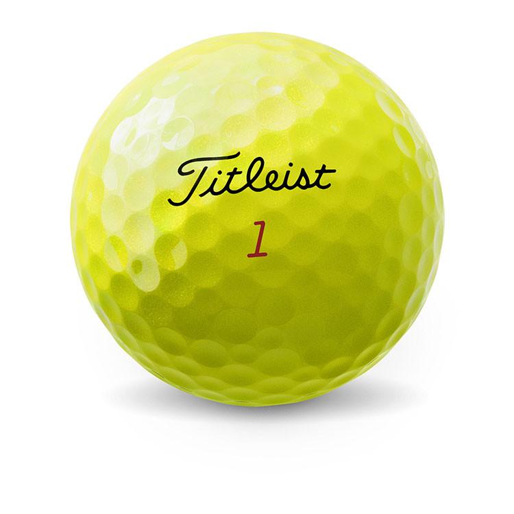 Titeilst - Balles de golf ProV1x jaune