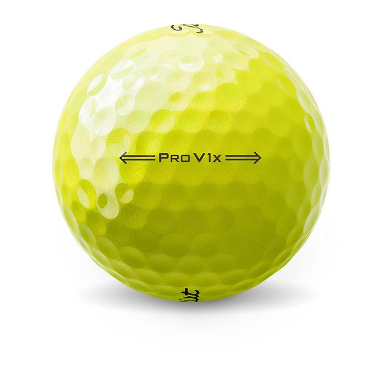 Titleist - Balles de golf Prov1x jaune alignement