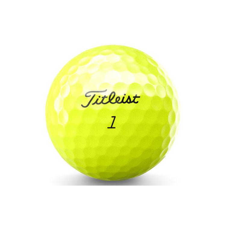 Titleist Balle Tour Speed Jaune Golf Plus