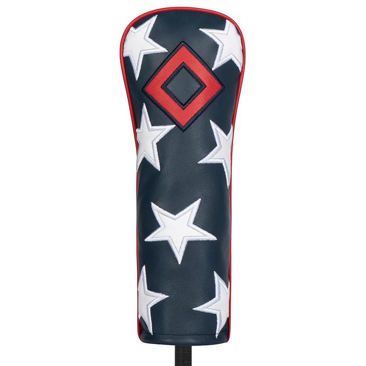 Titleist Couvre tête Fairway Bleu Blanc Rouge avec étoiles