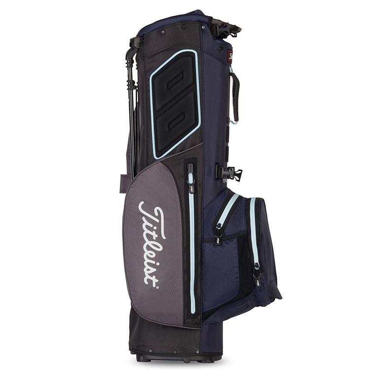 Titleist sac Players 4 Plus Stadry Trepied Gris/Marine/Ciel Golf Plus