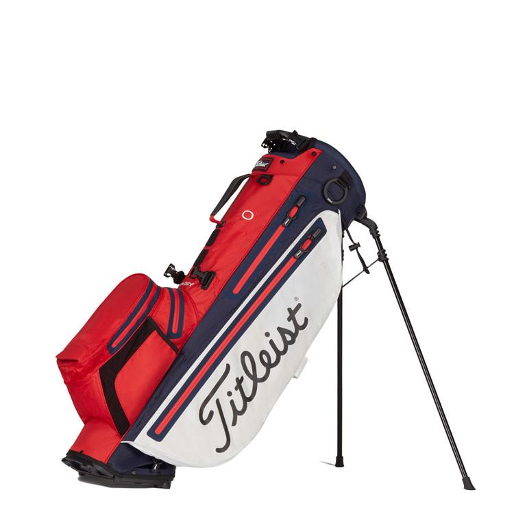 Titleist Sac Players 4 Plus Stadry Trepied Rouge/Blanc/Marine Golf Plus