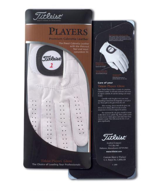 TITLEIST - Gants de golf Players