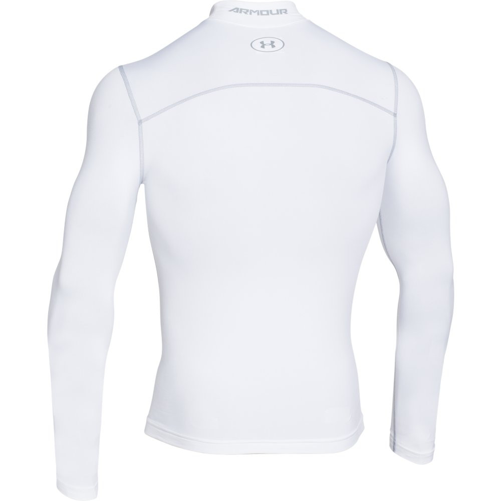 UNDER ARMOUR - S/PULL COMPRESSION BLANC