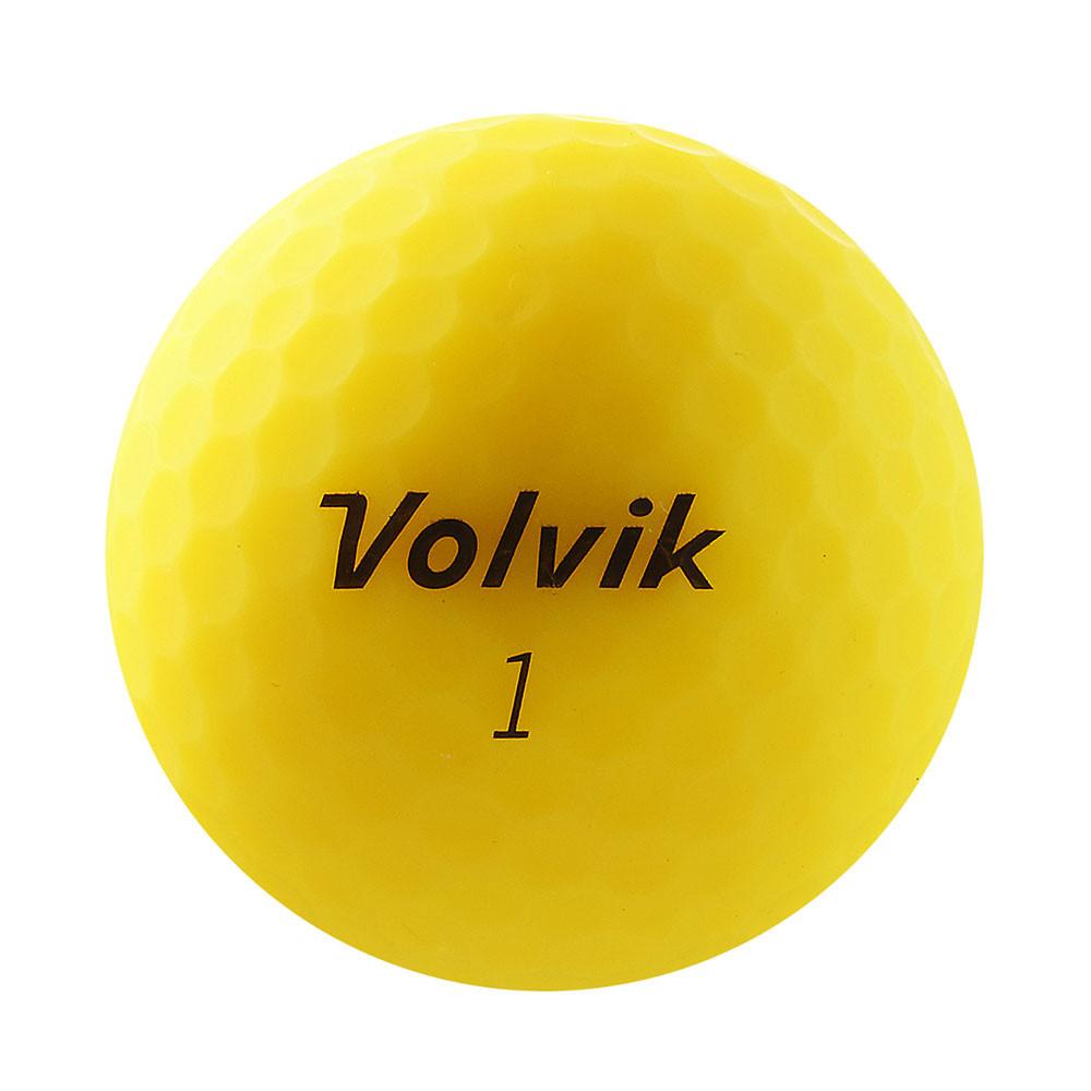 VOLVIK - BALLE VIVID 3PC JAUNE