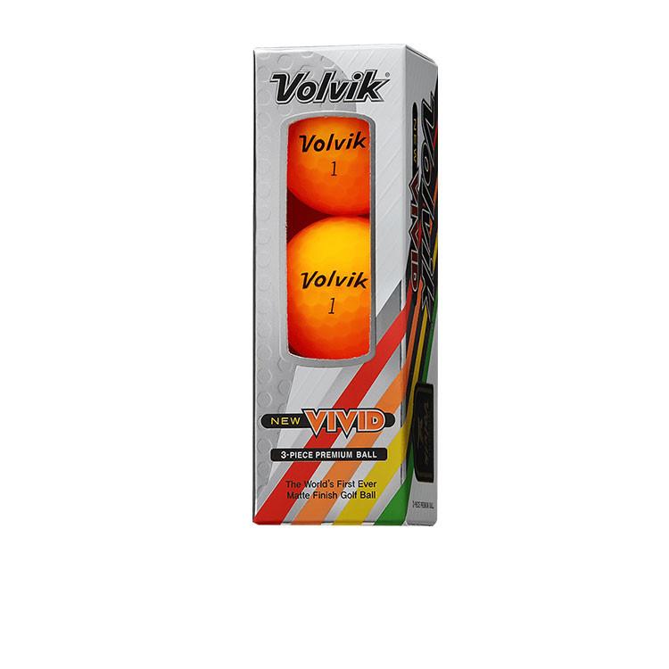 Volvik - Balles New VIVID Orange