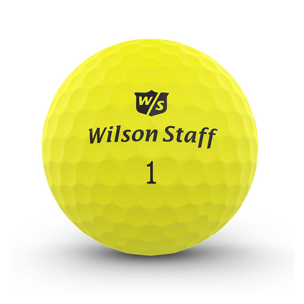 WILSON - BALLES DE GOLF DUO PROFESSIONAL JAUNE