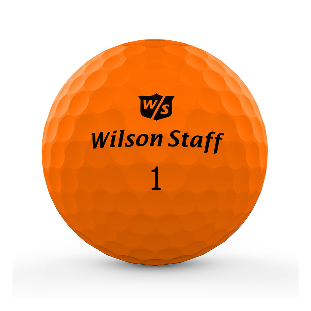 WILSON - BALLES DE GOLF DUO PROFESSIONAL ORANGE