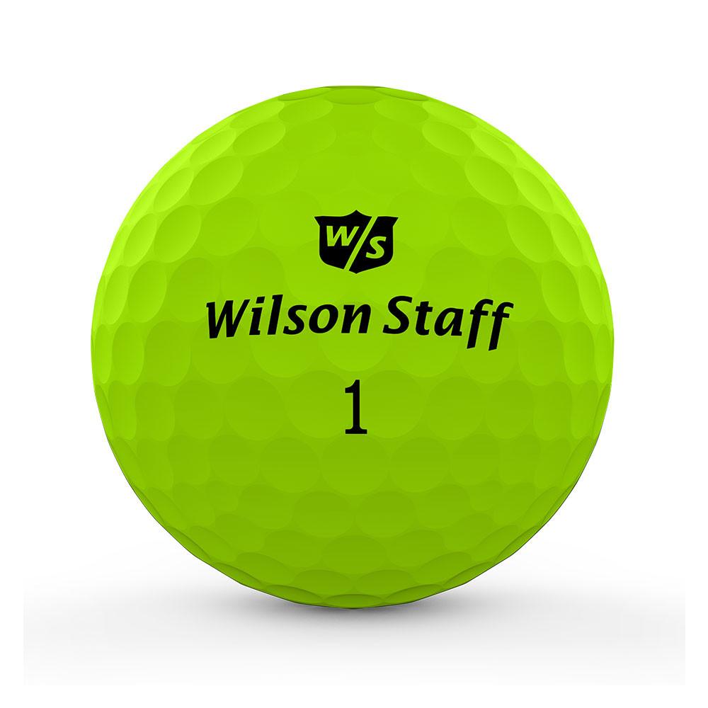 WILSON - BALLES DE GOLF DUO PROFESSIONAL VERT