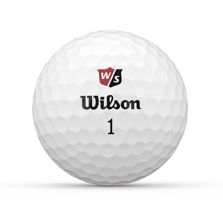 WILSON - BALLES DE GOLF SOFT+ BLANC 1