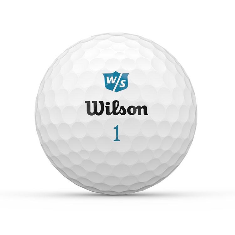 WILSON - BALLES DE GOLF SOFT+ LADIES BLANC 1