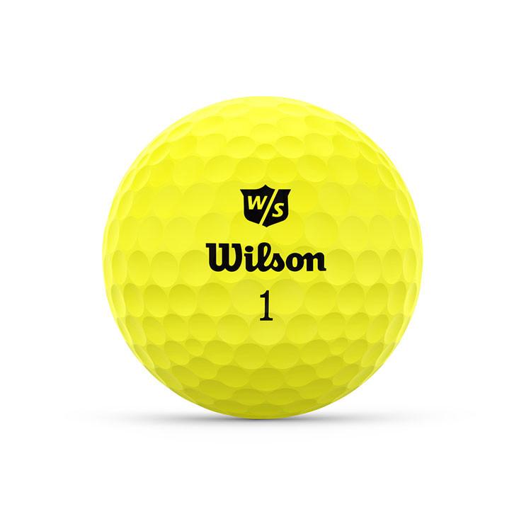 WILSON - BALLES DE GOLF DUO OPTIX JAUNE 1