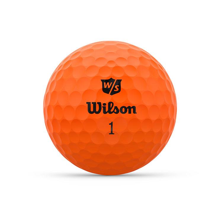 WILSON - BALLES DE GOLF DUO OPTIX ORANGE 1