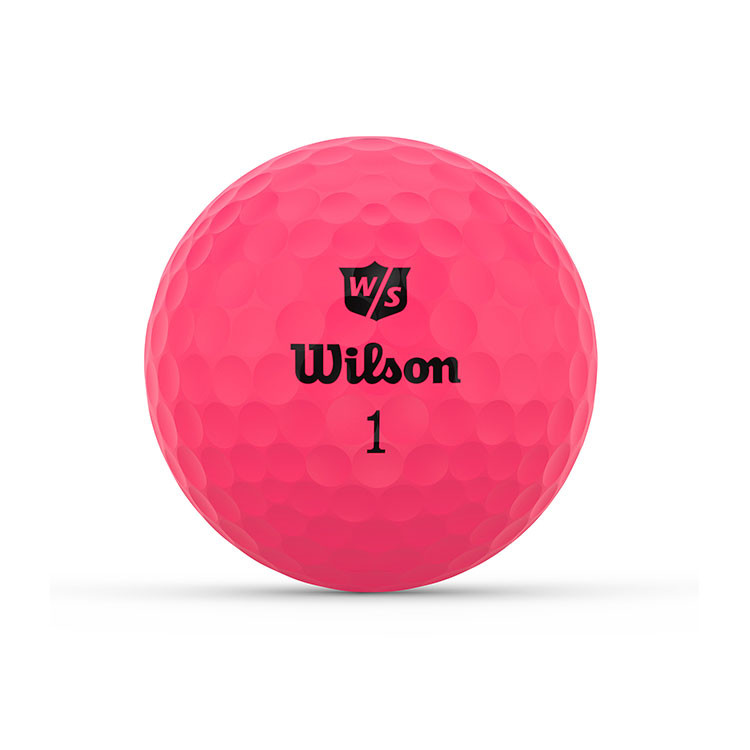WILSON - BALLES DE GOLF DUO OPTIX ROSE 1