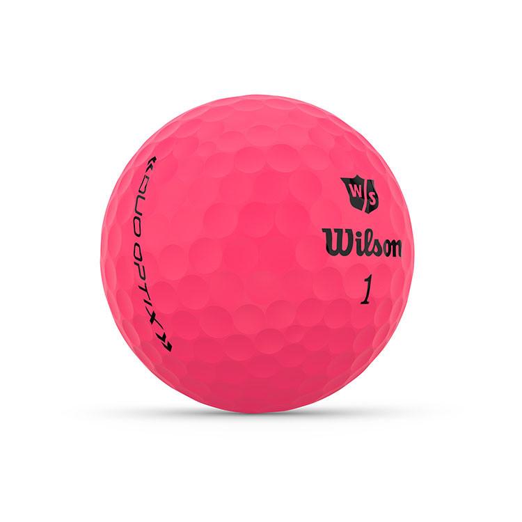 WILSON - BALLES DE GOLF DUO OPTIX ROSE 2
